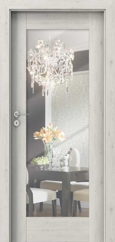 Porta Inspire A1 with mirror Door Norvegian Pine