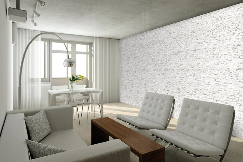 Decorative Stone Master Livorno White Photo