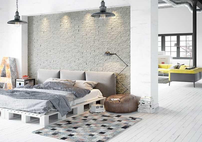 Decorative Stone Master Rock Brick Gray Photo