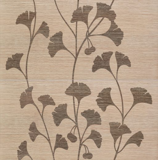 Biloba Beige - 2-element wall decoration