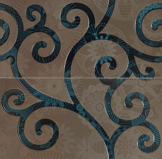 Elle Blue - 2-element wall decorations