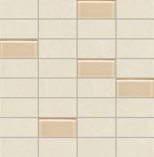 Gobi White - wall mosaics