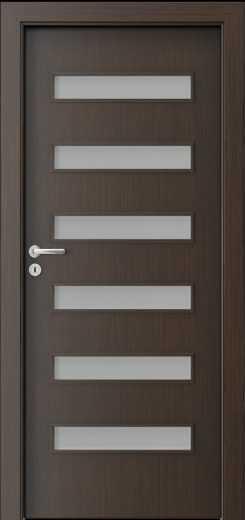 Porta Fit F6 Door Wenge & Porta Doors - Building Market UK