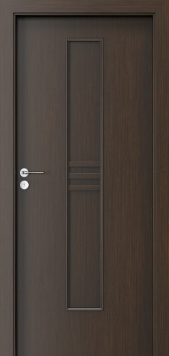 Porta Style 1 with panel Door Wenge
