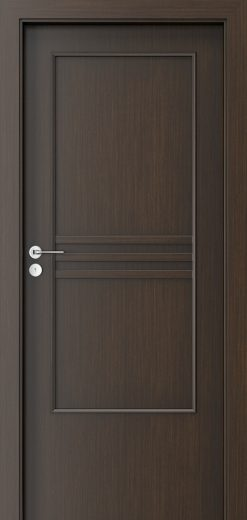 Porta Style 3 with panel Door Wenge
