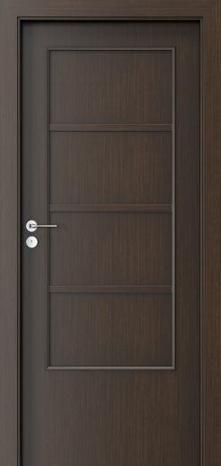 Porta Style 4 with panel Door Wenge