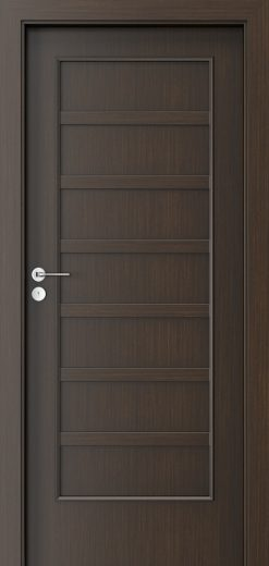 Porta Style 5 with panel Door Wenge