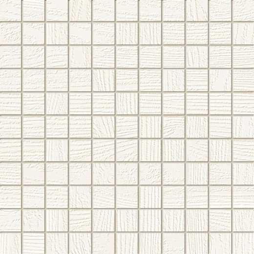 Timbre white mosaic