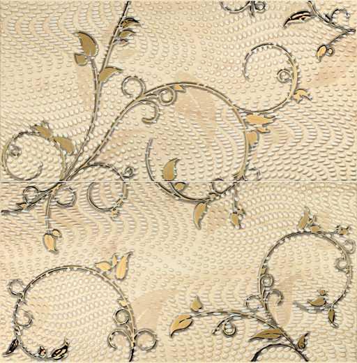Traviata Ornament - 2-element wall decorations