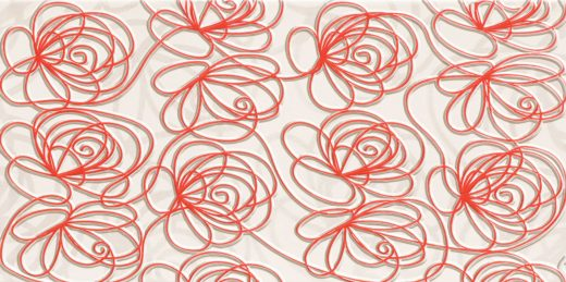 wave-modern-red-wall-decorations