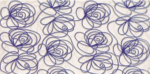 wave-modern-violet-wall-decorations