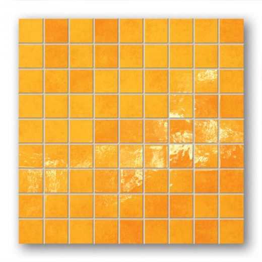 Majolika 12 - Square wall mosaic