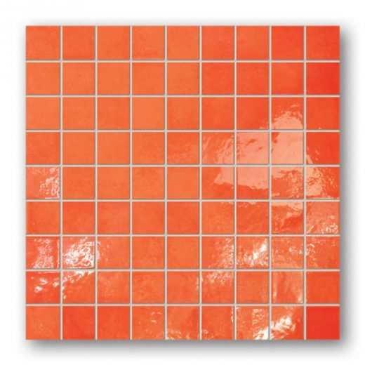 Majolika 13 Square wall mosaic