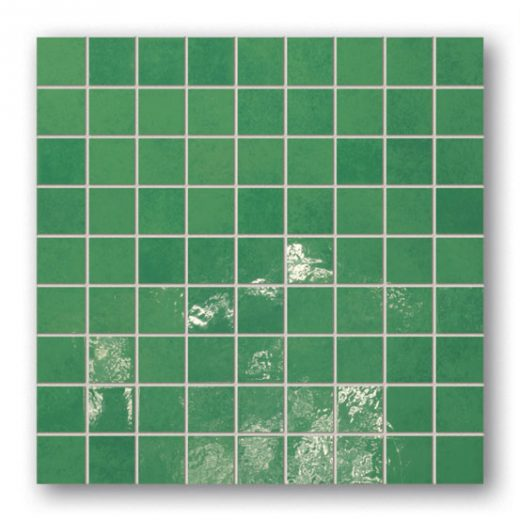 Majolika 14 - square wall mosaic