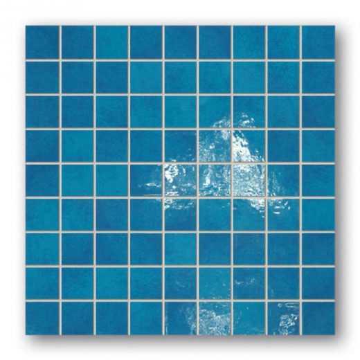 Majolika 17 Square wall mosaic