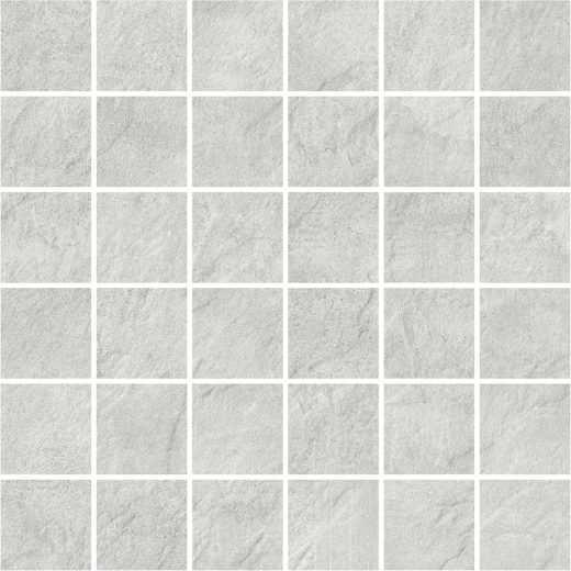 Pietra Slate - Light Grey Mosaic